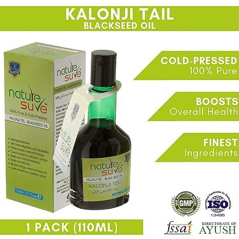 Nature Sure Kalonji Oil (Black Seed Oil) Cold Pressed-110ml