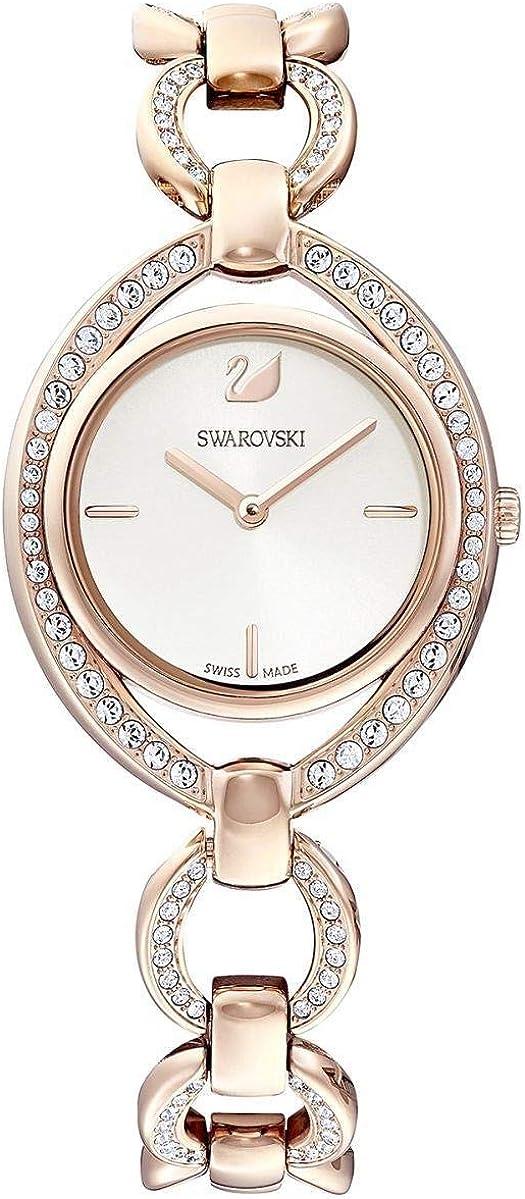 Swarovski Reloj Cuarzo Caja de Acero Dorado dial Blanco 5470415