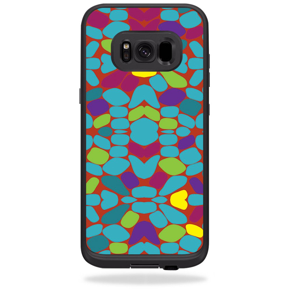 and Unique Vinyl wrap Cover Easy to Apply Protective Made in The USA Solid Burgundy MightySkins Skin Compatible with LifeProof Samsung Galaxy S8 fre Case Remove Durable and Change Styles