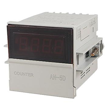1-9999 x1/x10 x100 Digital Counter Relais Count Up Down 110 V 220 V ...