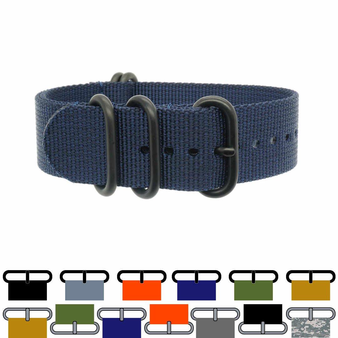 PerFit® SHIRT メンズ 22mm Navy Blue + Black-ops Hardware Navy Blue + Black-ops Hardware 22mm B01FMZKCX2