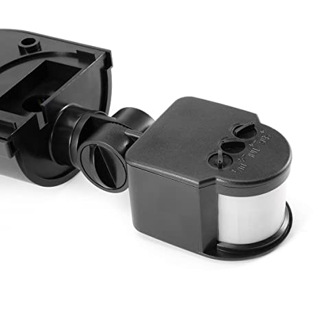 Amazon.com: eDealMax Sensor de movimiento interruptor interruptor de luz del Sensor de CA 110V-240V al aire Libre Ajustable de infrarrojos Cuerpo Movimiento ...