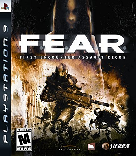F.E.A.R. First Encounter Assault Recon - Playstation 3 (Scary Ps3 Games)