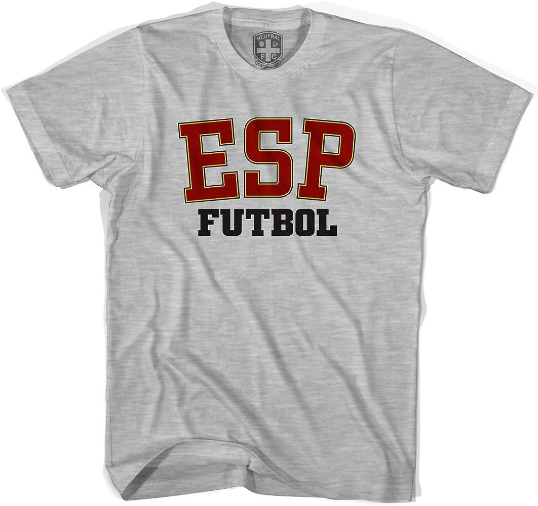 España ESP camiseta de fútbol gris Cool Grey extra-large: Amazon ...
