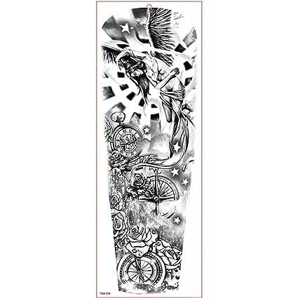 7pcs Impermeabilizan el tatuaje impermeable mangas del brazo ...