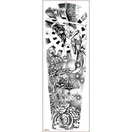 Handaxian 3pcs Pegatinas Impermeables del Tatuaje del Tatuaje de ...