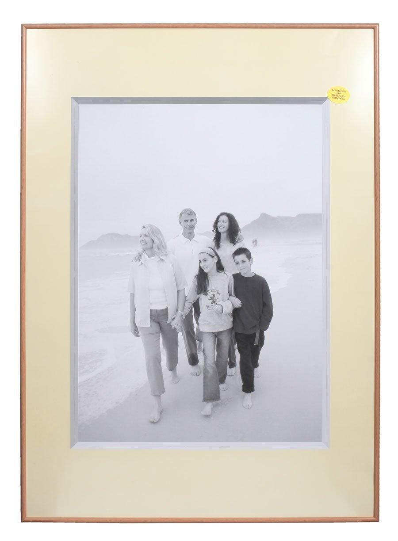 Amazon.de: Ideal Photo Plexiglas Bilderrahmen in 70x100 cm Buche ...