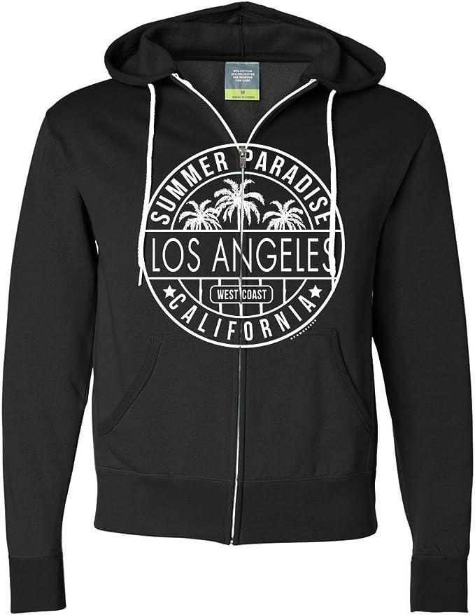 California West Coast Original Bear Ladies Lightweight Fitted Hoodie