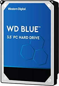 "Western Digital 2TB WD Blue PC Hard Drive - 5400 RPM Class, SATA 6 Gb/s, , 256 MB Cache, 3.5"" - WD20EZAZ"