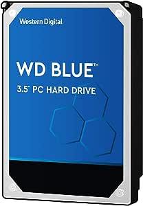 """Western Digital 2TB WD Blue PC Hard Drive - 5400 RPM Class, SATA 6 Gb/s, , 256 MB Cache, 3.5"""" - WD20EZAZ"""