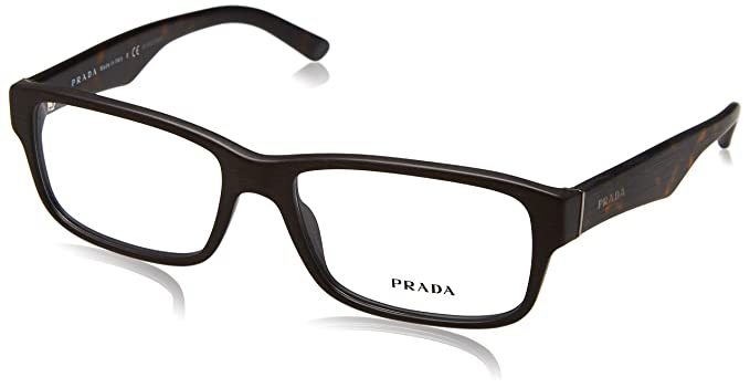 87871e59bc6 Image Unavailable. Image not available for. Colour  Prada Eyeglass Frames  PR16MV TV61O1-55 - Matte ...