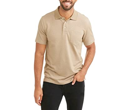Patterned Short Sleeve Polo Discount 2018 Cheap Sale Release Dates Discount Codes Really Cheap Outlet 100% Authentic Shop Your Own wZLoJ