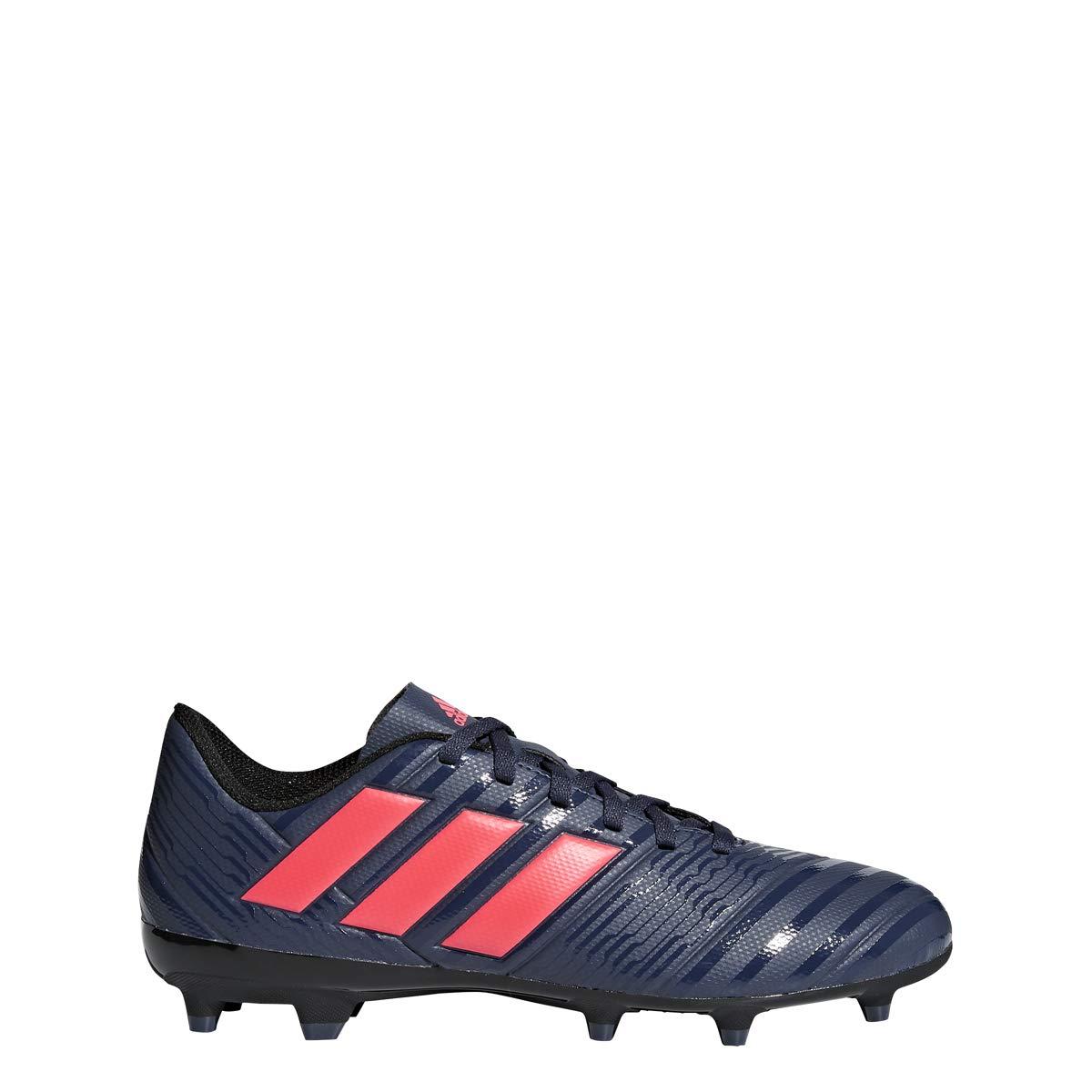 adidas Women's Nemeziz 17.4 FG W Soccer Shoe, Trace Blue/Red Zest/Core Black, 9.5 M US