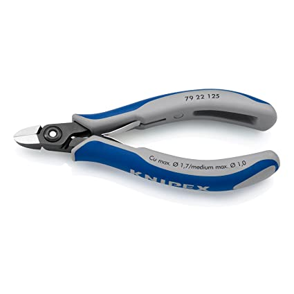 Knipex 79 22 125 Diagonal Cutter 4 92 With Round Head Without