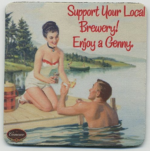 Genesee - Beer Coaster Set - New