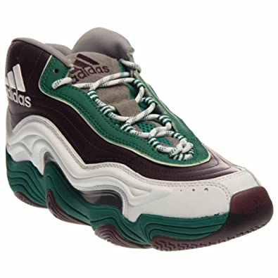 5186cd1e0347 adidas Crazy 2 Mens in Red Subgreen White by