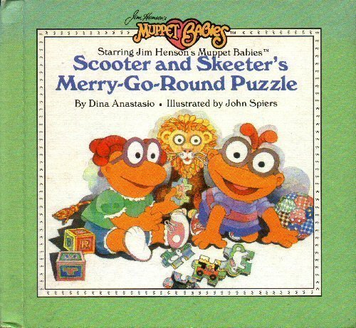 Scooter and Skeeter's Merry-Go-Round Puzzle (Jim Henson's Muppet (Skeeter Muppet Babies)
