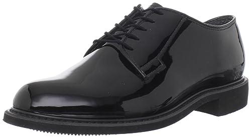 Bates Men's High Gloss Uniform Work Shoe