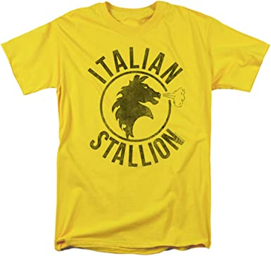 ROCKY T-SHIRT Mens Balboa Italian Stallion Boxing Boxer Movie Unisex Top Tee