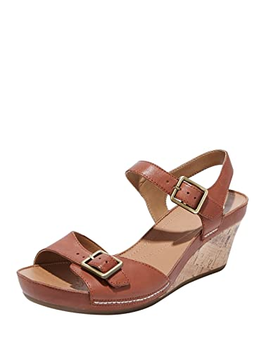 8f7030a20be0 Clarks Ladies Leather Dark Brown Heels  Buy Online at Low Prices in India -  Amazon.in