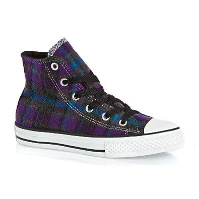 Converse niña, niño Zapatillas Chuck Taylor All Star Textil, Color Morado, Talla 34 EU: Amazon.es: Zapatos y complementos