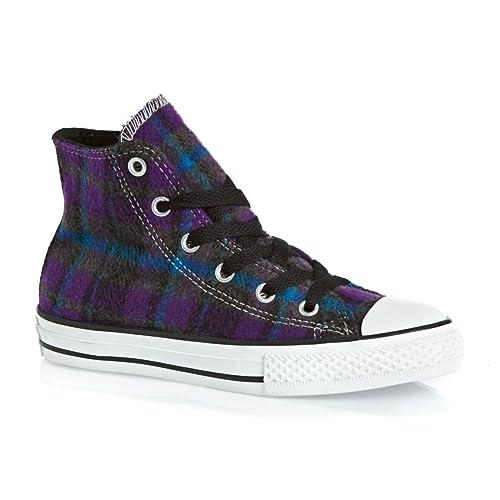 Invernali Hi Converse Scarpe Plaid Giallo Nero Sneakers Bimbo d1O1IqB