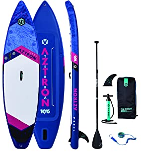 Aztron Terra Inflatable Stand Up Paddle Board SUP Touring 106