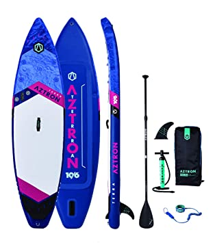 AZTRON Terra 10.6 Double Double Sup Stand Up Paddle Board Set Oferta, Board+Style ALU Paddel+Leash: Amazon.es: Deportes y aire libre