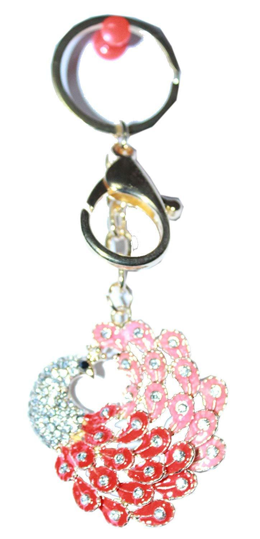Odishabazaar メタルキーリング キーチェーンバッグ/財布/車/ホームキーチェーンリング キーフォブギフト M B07231KJH8  keychain-15 B07L9QXMFL