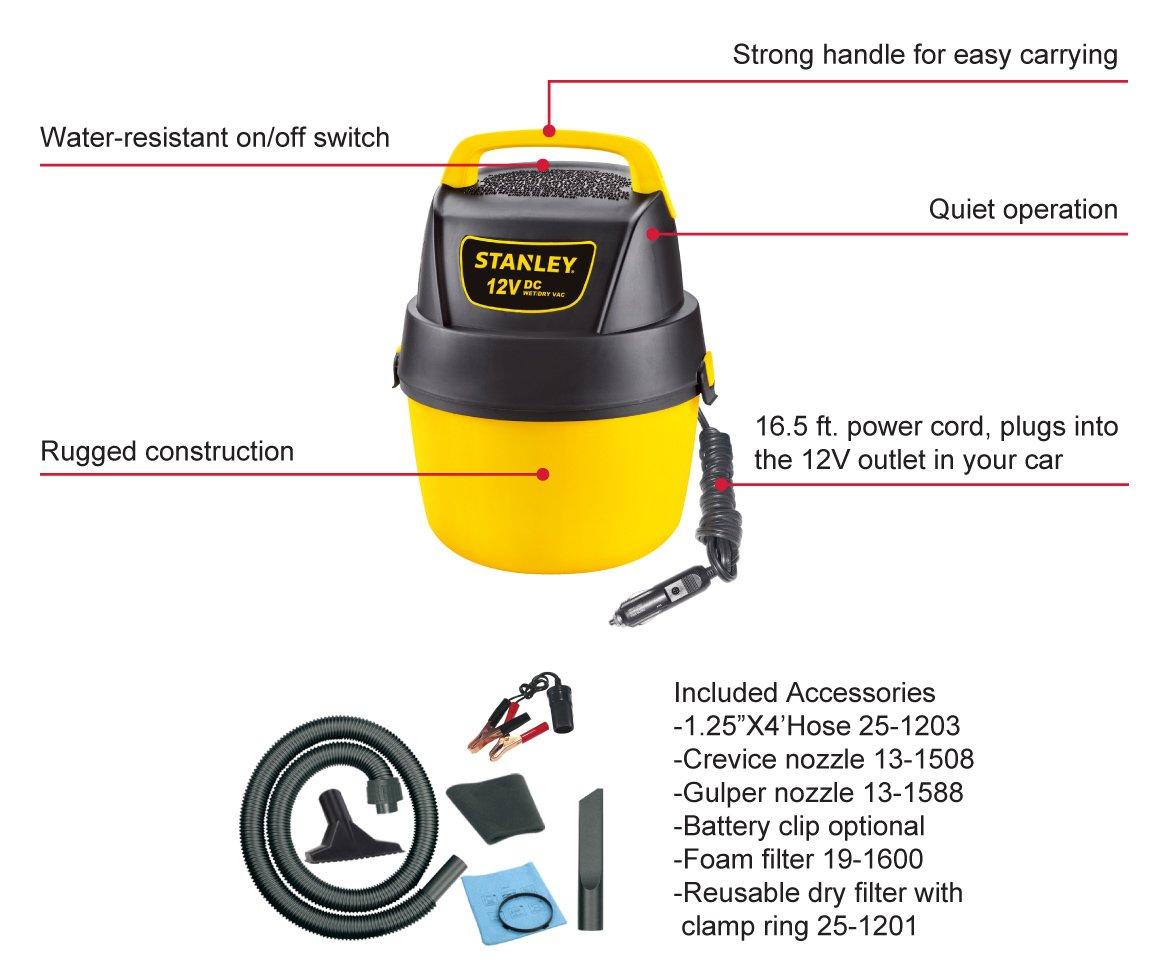Amazon Stanley Wetdry Vacuum 1 Gallon 12 Volt Dc Home