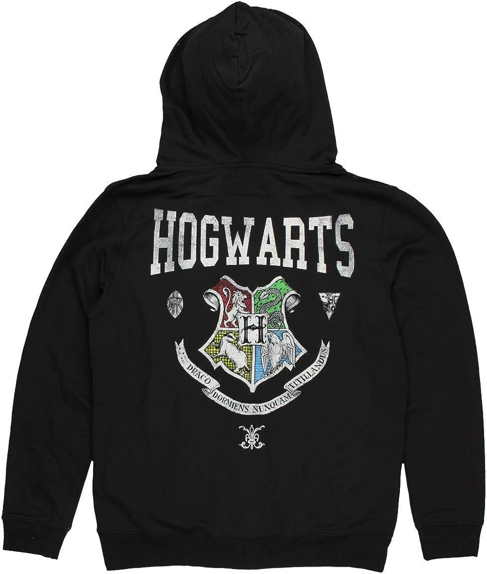 HARRY POTTER Hogwarts Crest Unisex Zip Hoodie