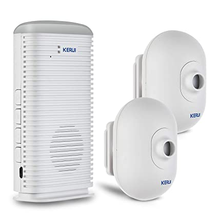 KERUI DW9 Sensor de Movimiento de Alarma con Alarma de Coche, Kit de Sistema de