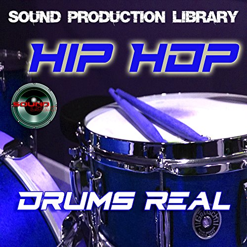 HIP HOP Drums Real - Large original Loops/Grooves 24bit production studio library on DVD or -