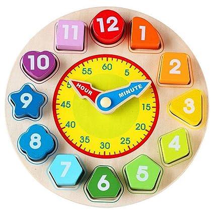 Mallalah - Reloj de Aprendizaje geométrico, diseño de ...