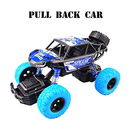 SUGOO Pull Back Car Toy For 2 6 Year Old Boys Kid Girl Monster Trucks