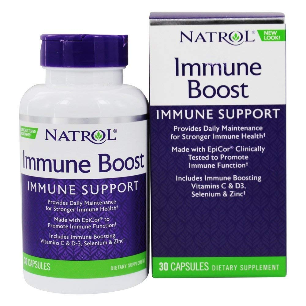Natrol Immune Boost Capsule – 30 per pack – 2 packs per case.