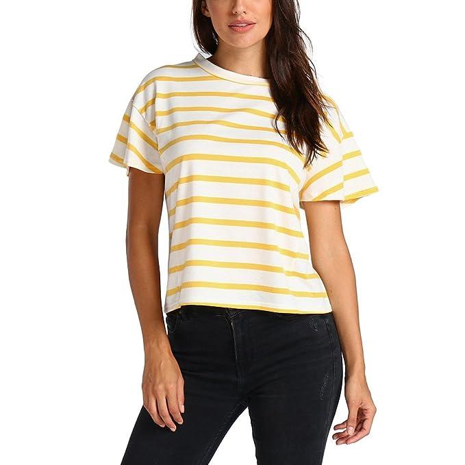 Vectry Camisetas Casual Camiseta Blanca Mujer Manga Corta ...