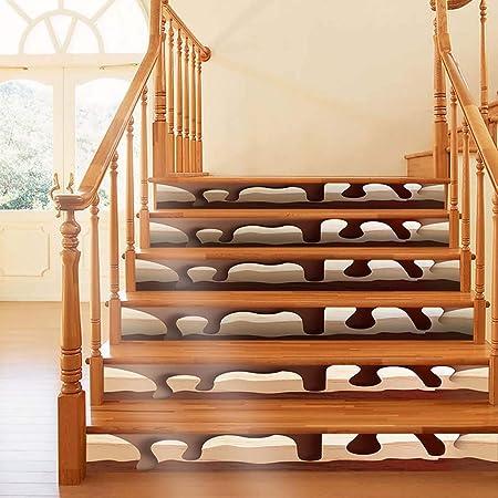 Igemy - Pegatinas para escaleras, Resistentes al Agua, extraíbles, de cerámica, Varios Patrones, Autoadhesivas, para escaleras, escaleras, escaleras, escaleras, escaleras, elevadores, Piso: Amazon.es: Hogar