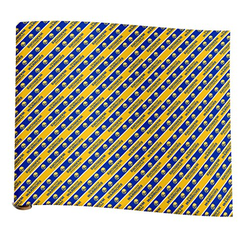 Golden Wrap (Golden State Warriors Team Wrapping Paper)