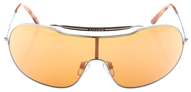 lozza Mujer Gafas de sol plata SL2049 - 0 A75: Amazon.es ...