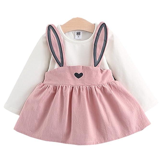 Amazon.com: Vestido de princesa de manga larga con diseño de ...