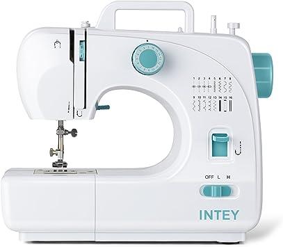 intey Máquina de coser, máquina de coser con accesorios brazo ...
