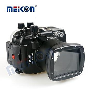 Meikon carcasa sumergible para Canon EOS-M3 18 - 55 mm con ...
