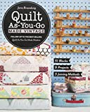 quilting and patchwork books - Quilt As-You-Go Made Vintage: 51 Blocks, 9 Projects, 3 Joining Methods