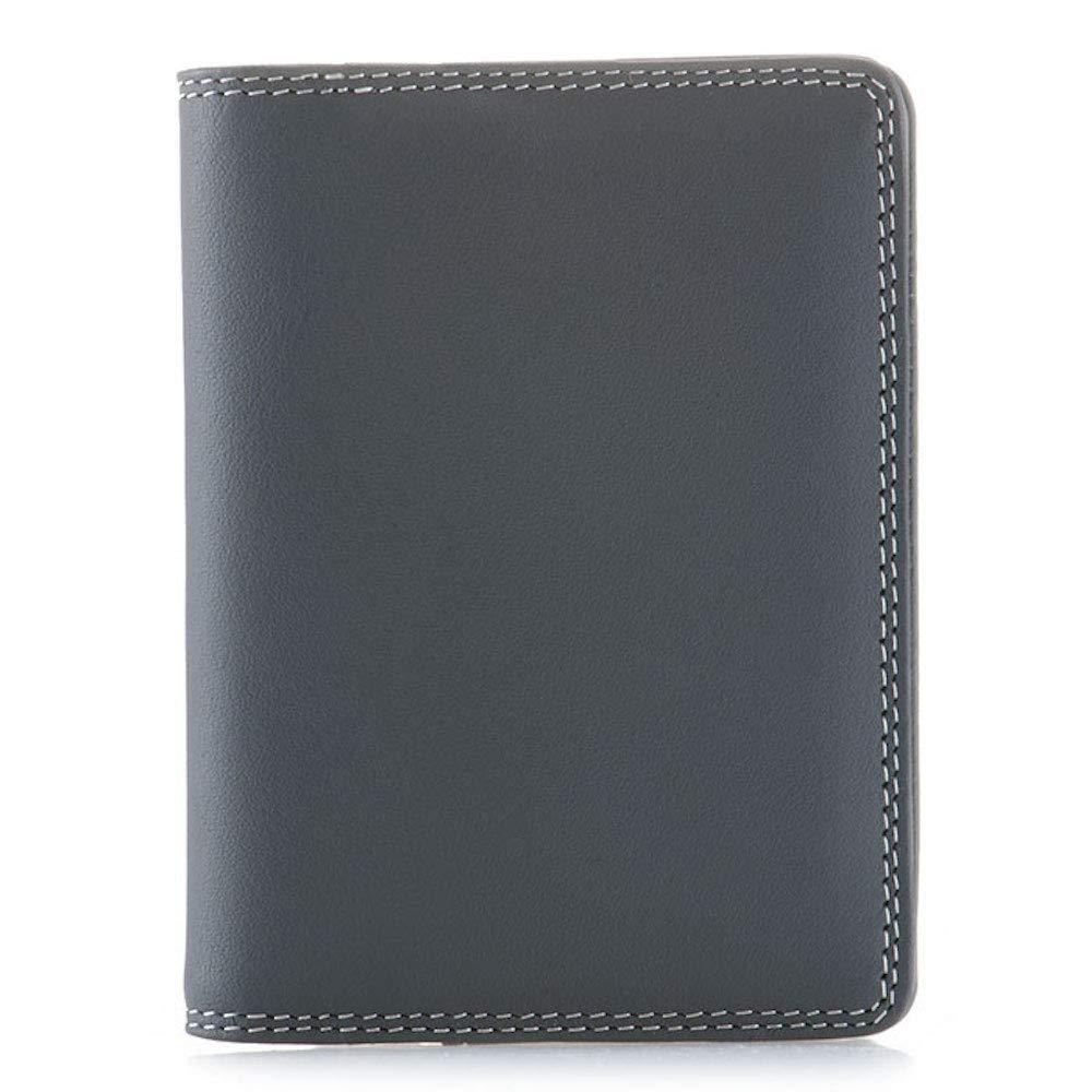 Mywalit Gifts with Style UK 131 Étui à rabat en cuir pour cartes de crédit - Bleu - Medium