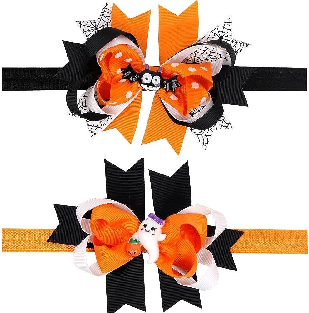 Baby Headband Halloween Headband Infant Headband Baby Girl Headband Orange Hair Bow Headband Newborn Headband Orange Big Bow Headband