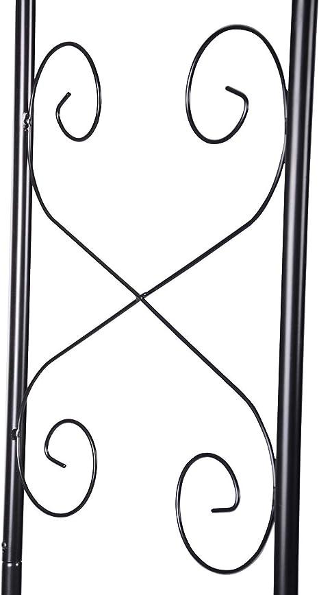 defacto DF- 002 - Pérgola para enredaderas (230 x 118 x 40 cm ...
