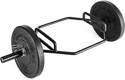 Capital Sports Beastbar Hex-Bar Halt/ère Barre /à Deadlift Triceps chrom/é 300 kg, halt/ère Hexagonal, poign/ées rainur/ées et chrom/ées, 2 Positions de Prises diff/érentes