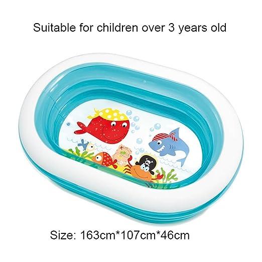 Bathtub.A ANDEa Ocean Life Pool/Inflatable Swim Center Family Fun ...