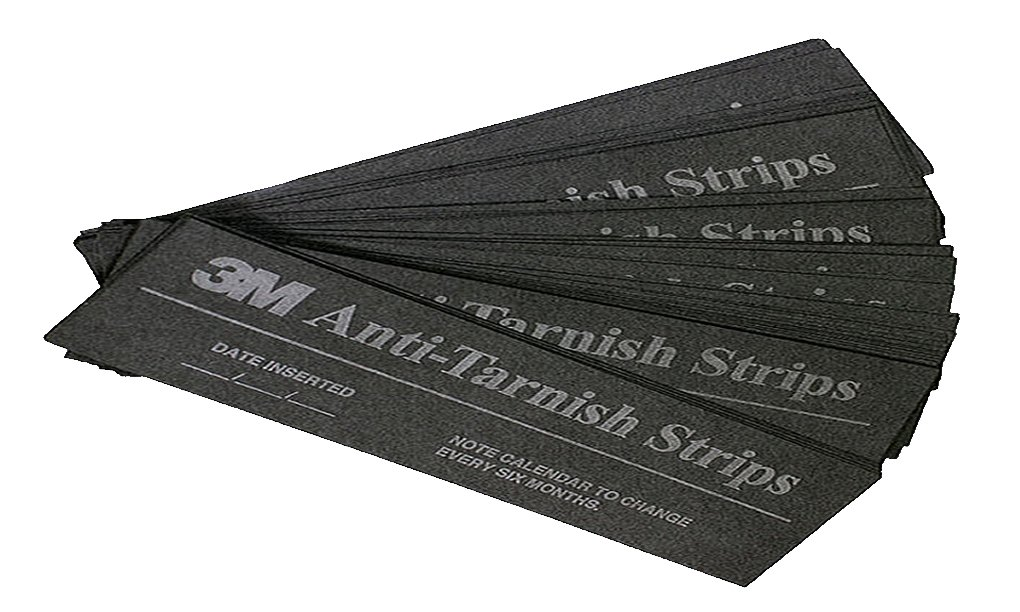 3M Anti-Tarnish Strips, 2'' x 7'' (25 Pack)